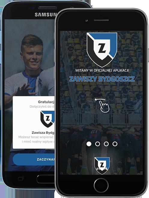 Witamy na stronie oficjalnej aplikacji Zawiszy Bydgoszcz!